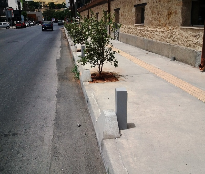 Prestressed Concrete Sidewalks : Sidewalk hurdles other specialized products heraklion crete